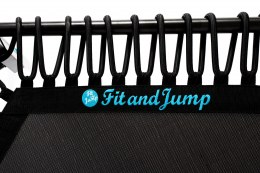 TRAMPOLINA FIT AND JUMP - CZARNA LINKA